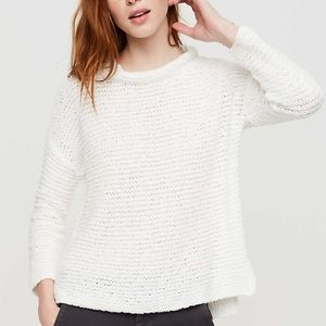 Lou & Grey Surfcomber Knit Sweater in White L